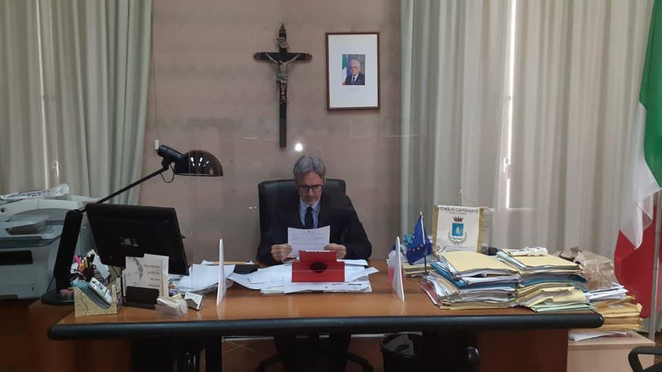 Campagna, anche il sindaco Monaco positivo al covid - Gwendalina.tv