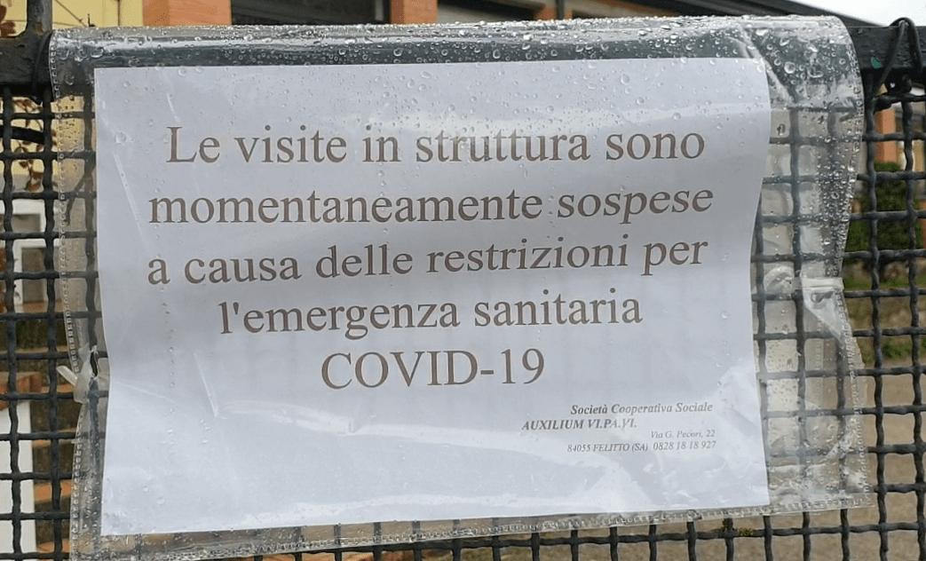 Novi Velia RSA colpito dal Covid
