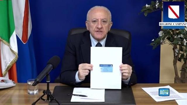 Campania, arriva il certificato di vaccinazione - Gwendalina.tv