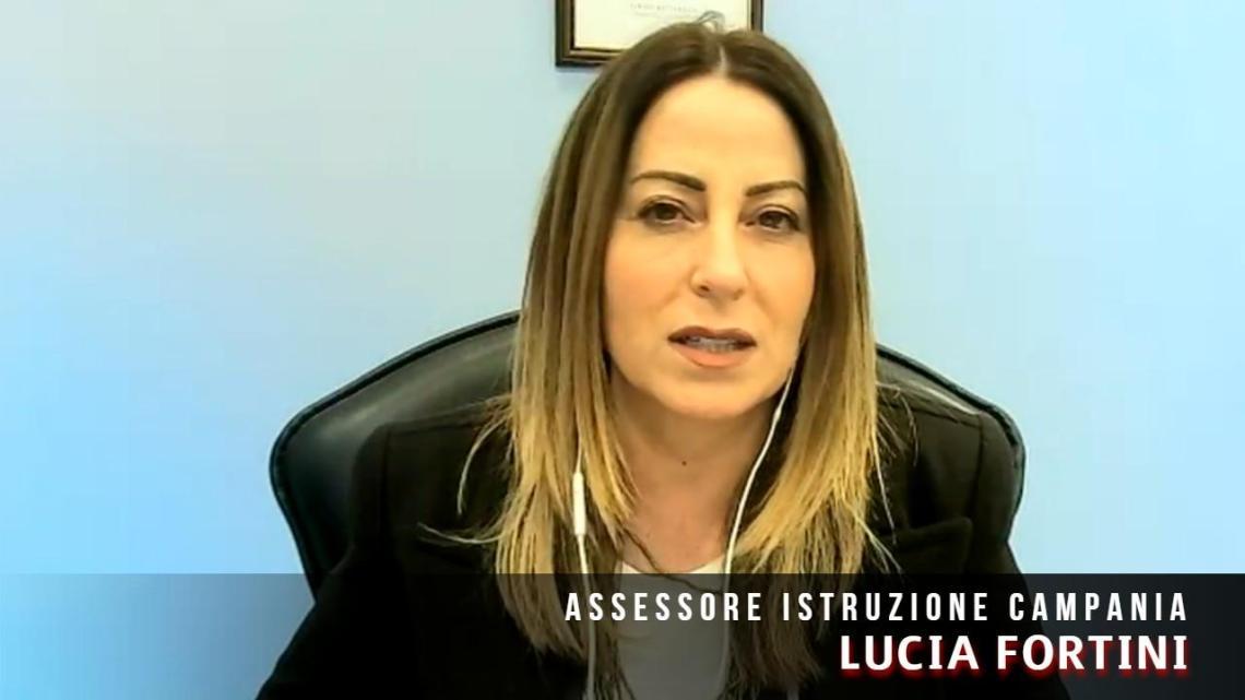 "Scuole Campania, Fortini: ""C'è bisogno di tranquillità e continuità"" - Gwendalina.tv"