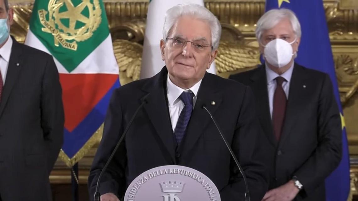 Mattarella convoca Draghi, Renzi ha mandato a casa Conte - Gwendalina.tv