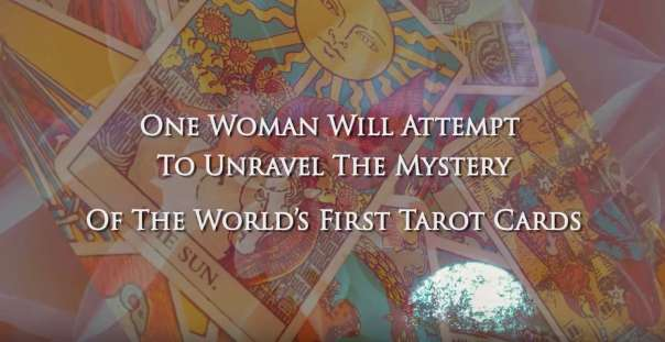 The Fortune Teller book trailer, a tarot mystery