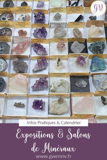 salons de minéraux