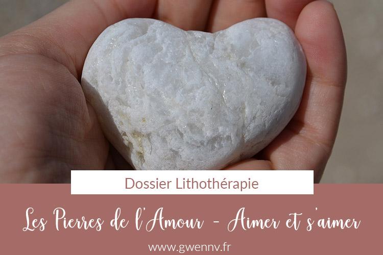 amour - pierres de l'amour