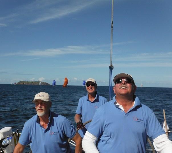 Crew concentration - G-whizz Elan 340