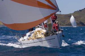 Elan 340 G-whizz HIRW Spinnaker