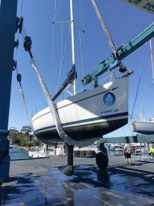 Elan 340 Hull Before Service 2018