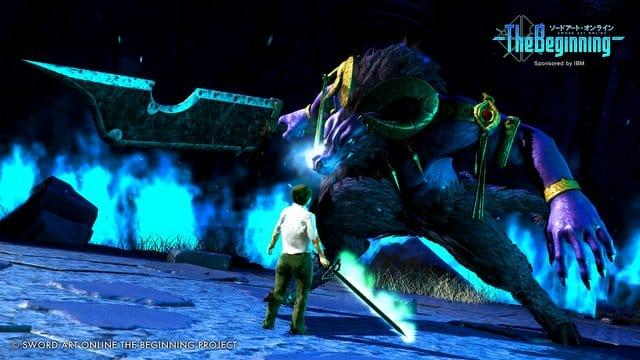 Sword Art Online The Beginning IBM Screenshot gwigwi-2