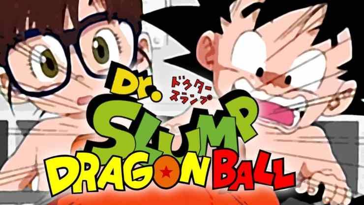 Anime Crossover - Dragon Ball & Dr. Slump Crossover