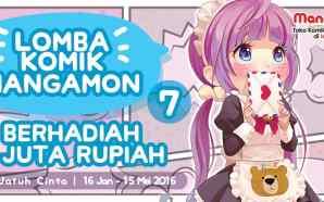 Lomba Komik ke-7 Manga-mon telah dibuka!
