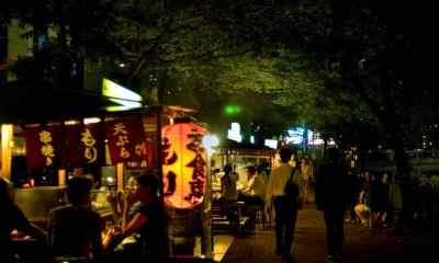 Tokyo Tengah Malam: Yatai