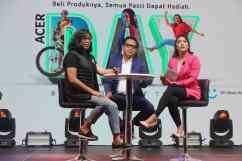 Foto 6 - Acer Day Talks (Kiri - Kanan) Fransisca Maya, Gofar Hilman, Tatha Yank