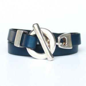 bracelet-cuir-femme-2-tours-fermoir-t-bleu-marine-2