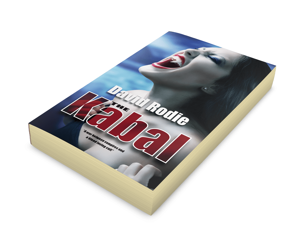 Exciting new vampire mystery thriller from David Rodie