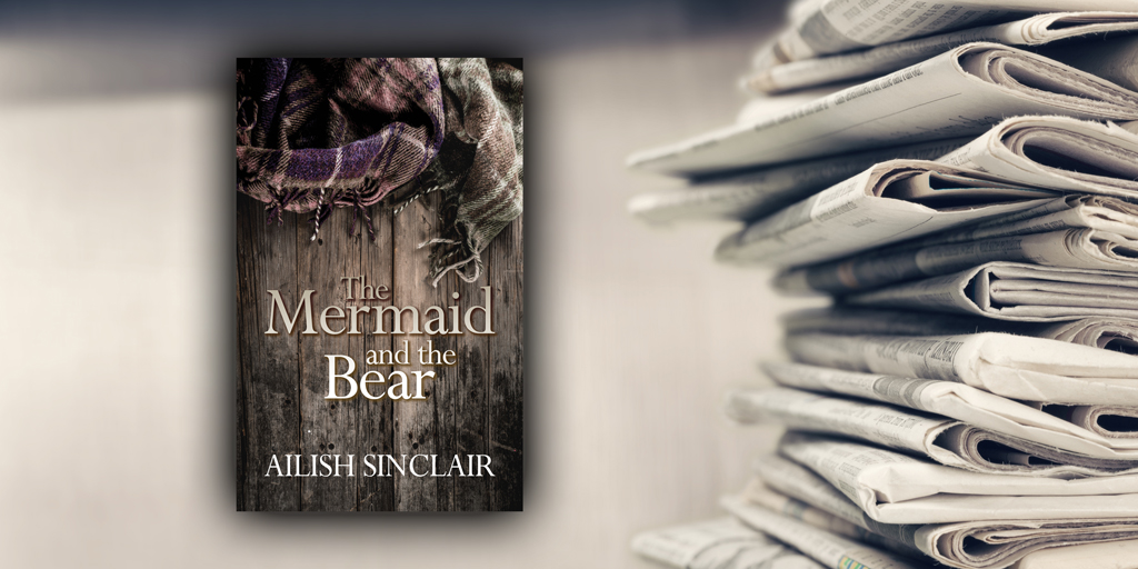 Local Press Heralds arrival of new author, Ailish Sinclair