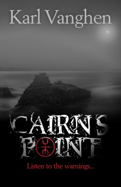 Cairn's Point by Karl Vanghen front cover image.