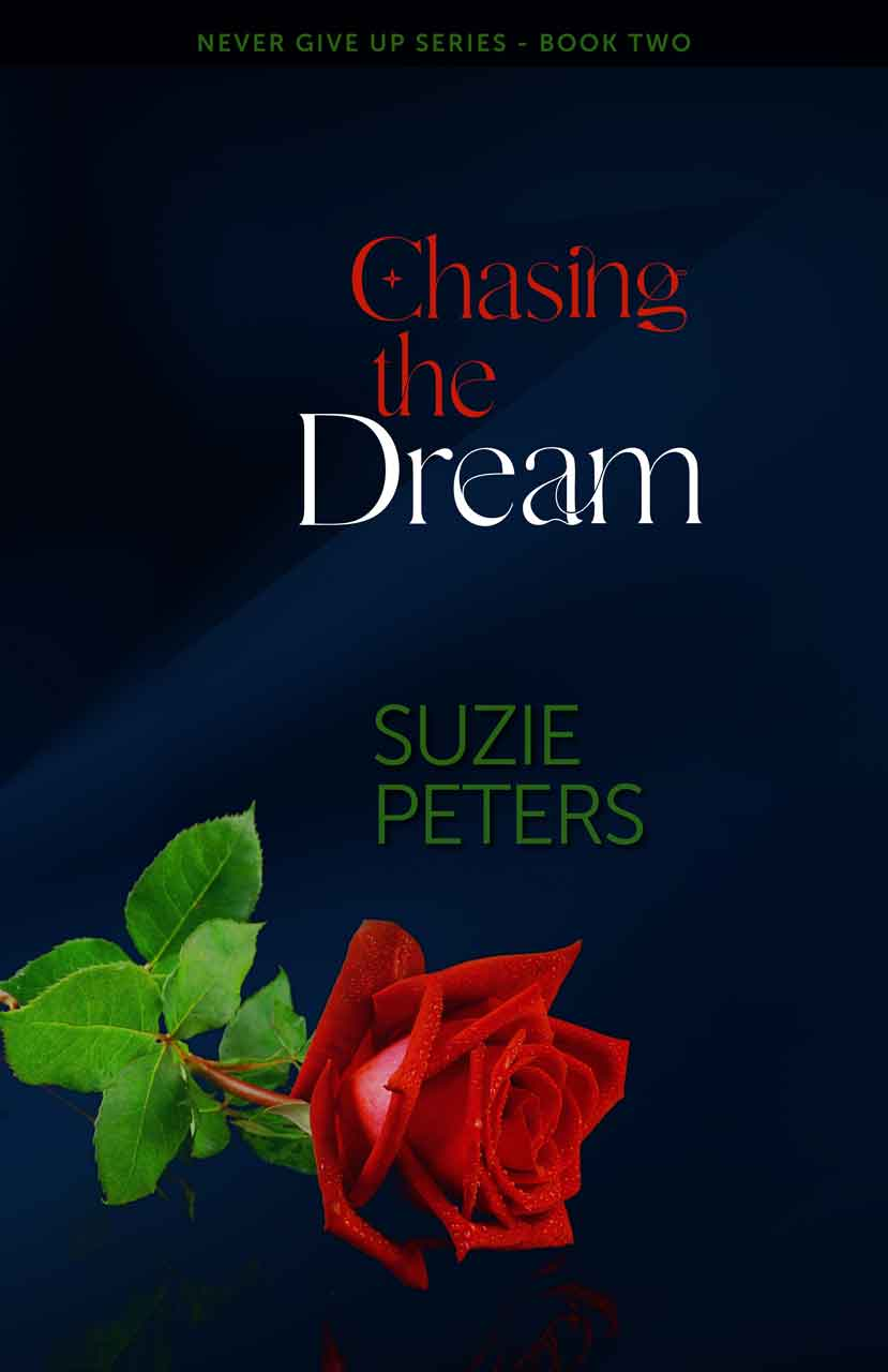 Chasing the Dream by Suzie Peters cover.