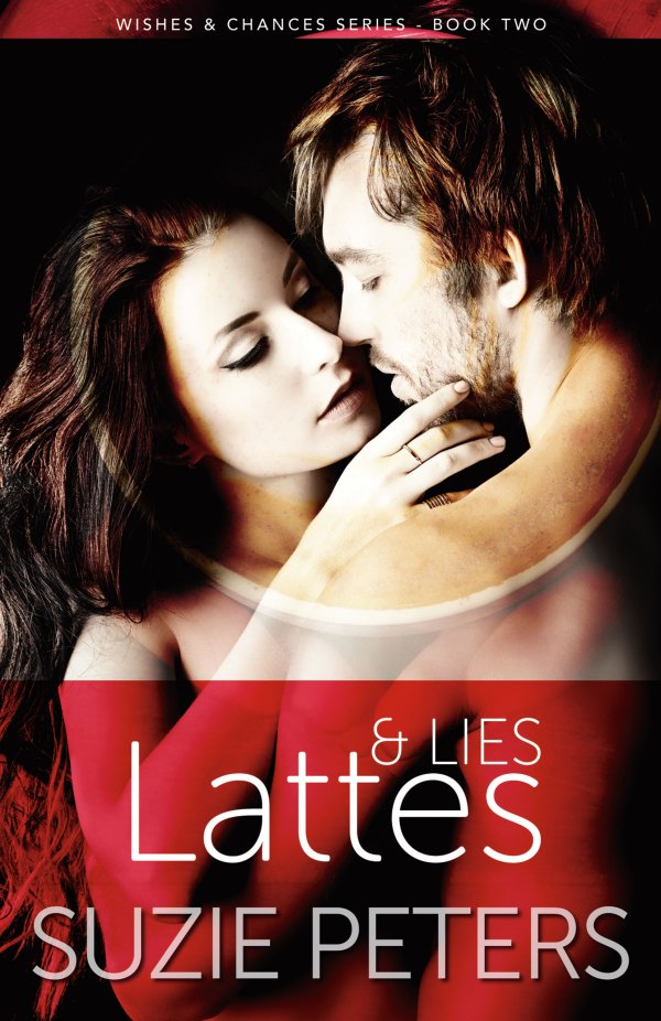 Lattes and Lies front cover image.