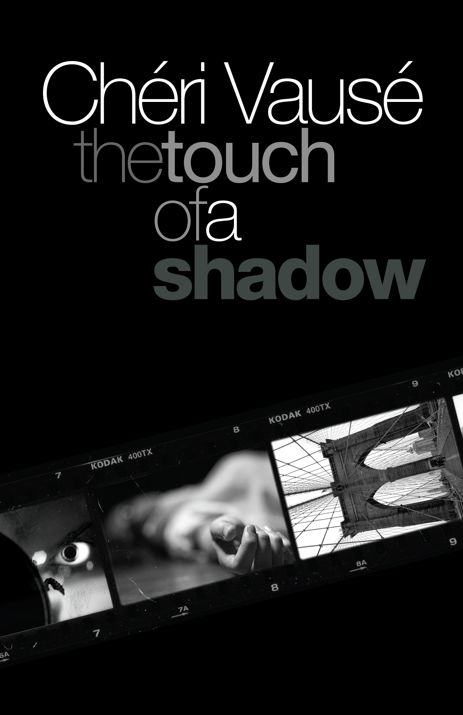 The Touch of a Shadow, by Chéri Vausé, front cover image