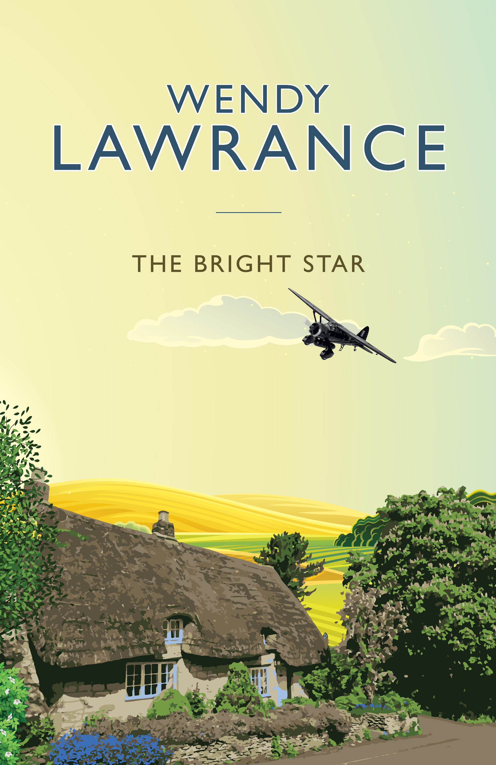 The Bright Star by Wendy Lawrance cover