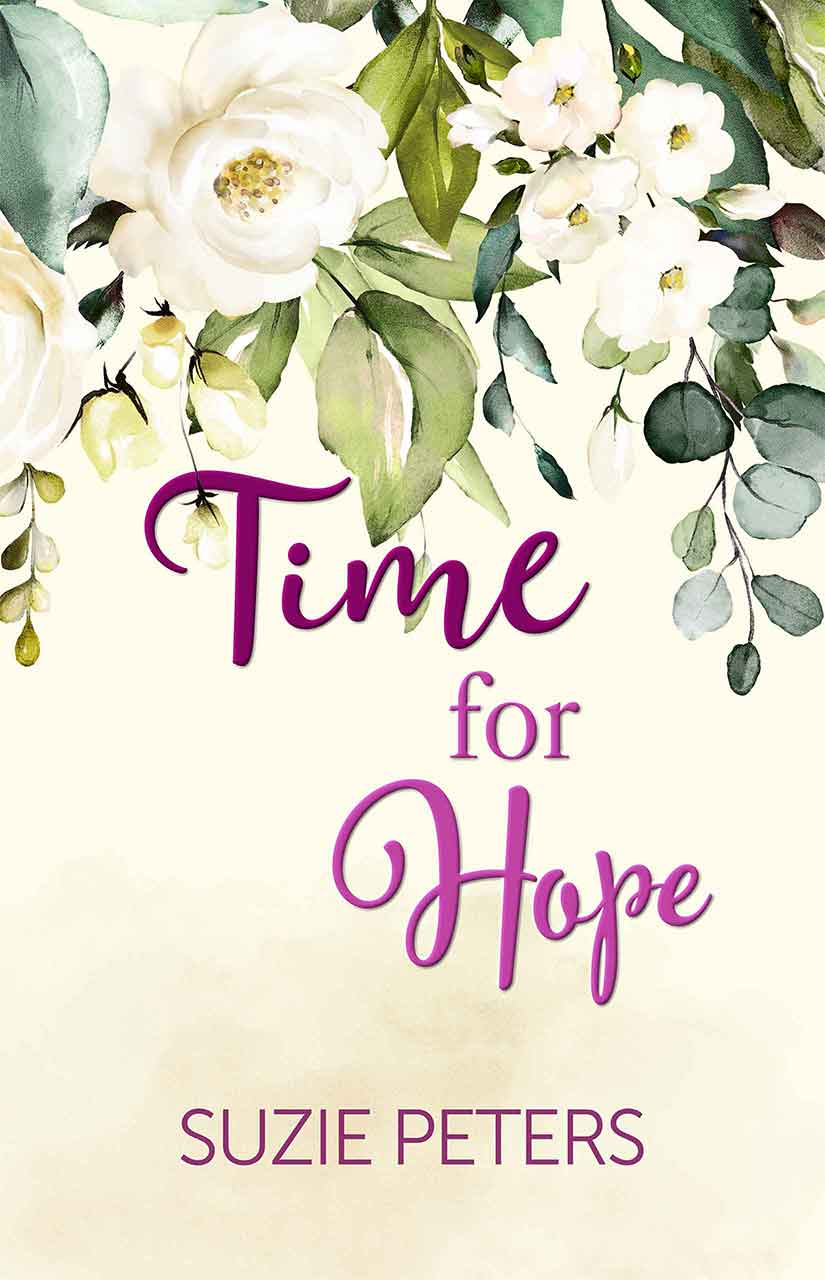 Cover image of the romantic novel 'Time for Hope' by Suzie Peters
