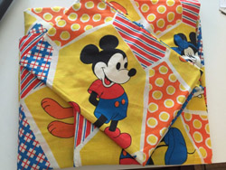 best things to sell on eBay for profit - vintage mickey mouse sheets