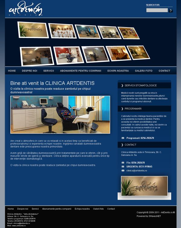clinica stomatologica ArtDentis Timisoara