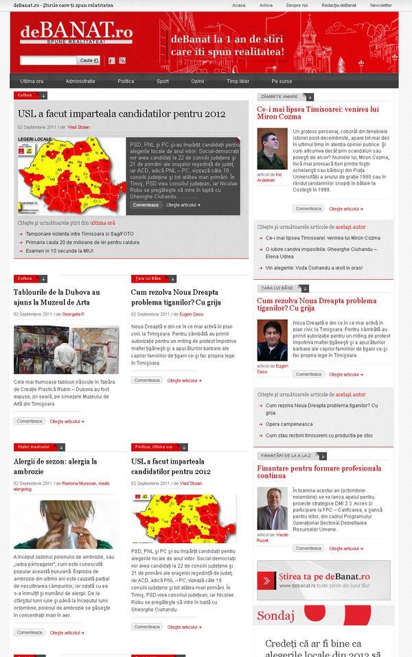 Debanat.ro - stiri si opinii din Timisoara