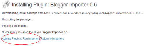 blogger-importer-plugin-activate