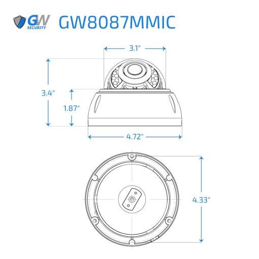 8087MMIC dimensions