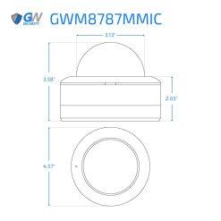 8787MMIC dimensions