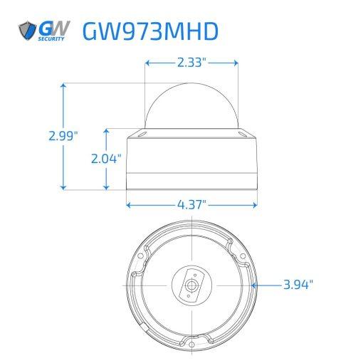 973MHD dimensions