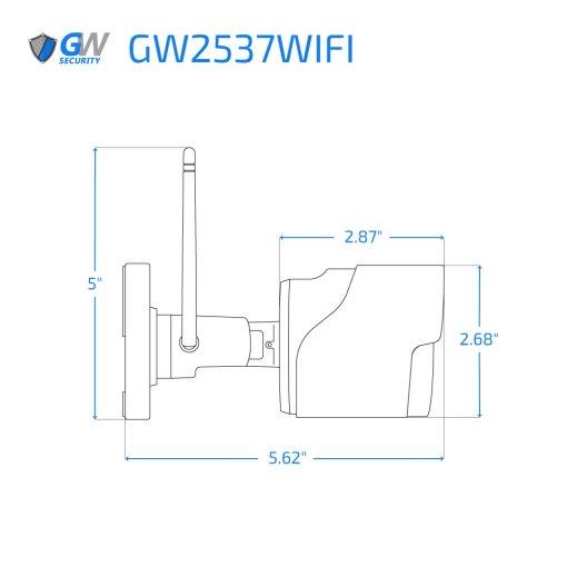 2537WIFI dimensions