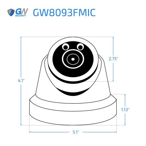8093FMIC dimensions