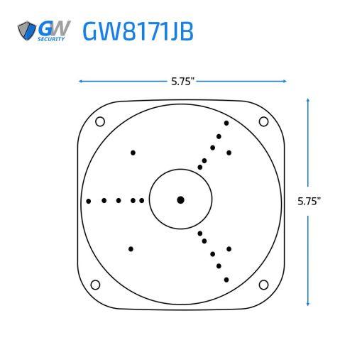 GW8171JB dimensions