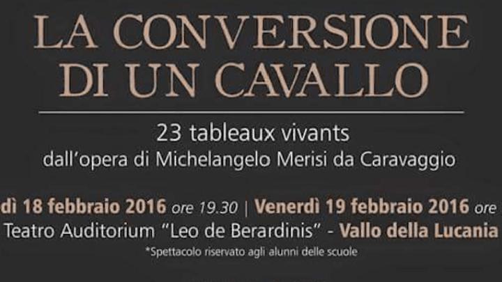 23 quadri viventi dall'opera di Michelangelo Merisi in scena al Leo De Berardinis.