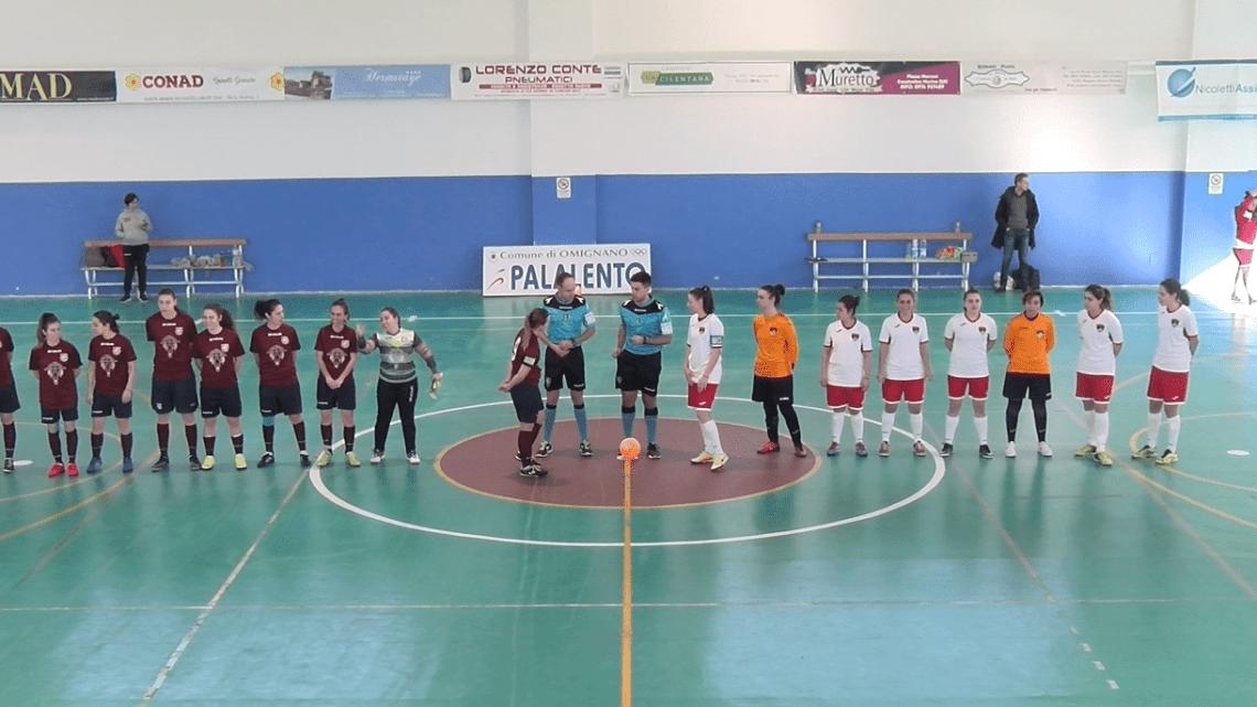 Calcio a 5, la Fénix crolla sotto i colpi del Castellamare