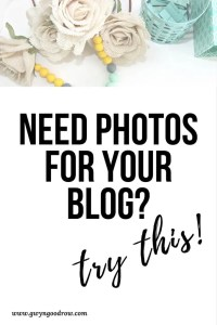 Need Photos for your Blog? Try this