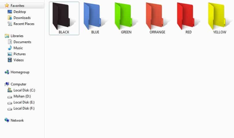 Folder Colorizer tool