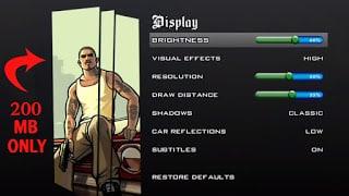 GTA San Andreas Game Lite