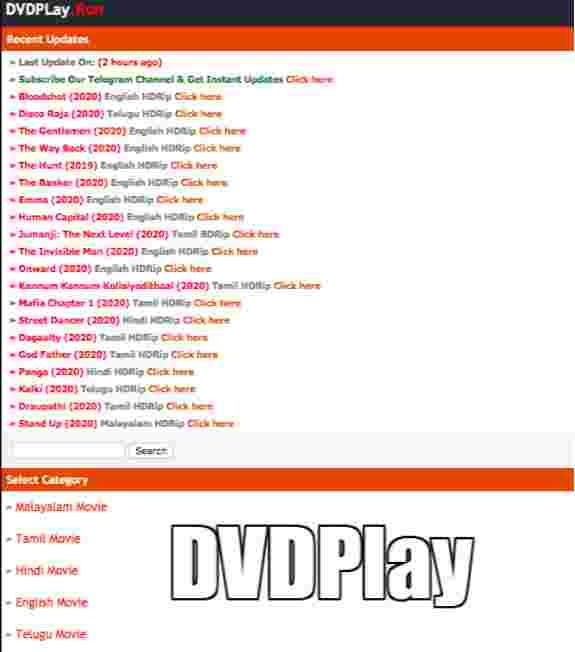 DVDPlay 2021