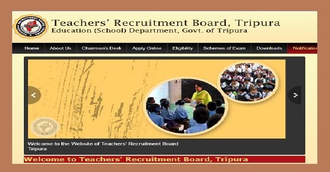 TRB Tripura Teacher Recruitment