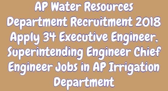 AP Water Resources Department Recruitment