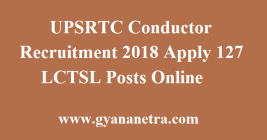 UPSRTC Conductor Recruitment