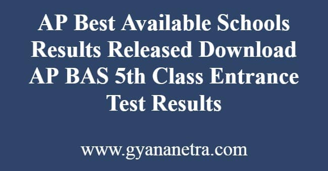 AP Best Available Schools Results Released