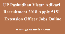 UP Pashudhan Vistar Adikari Recruitment