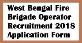 West Bengal Fire Brigade Recruitment