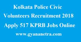Kolkata Police Civic Volunteers Recruitment