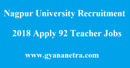 Nagpur University Recruitment