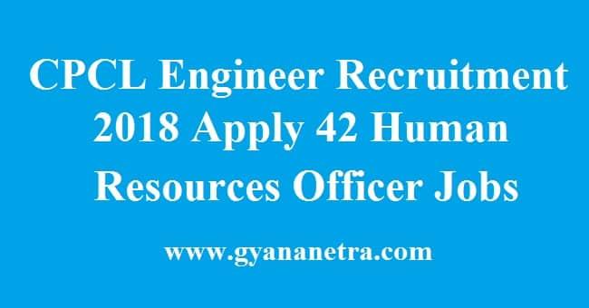 CPCL Engineer Recruitment
